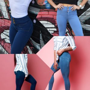 Blue - Curvify Jeans