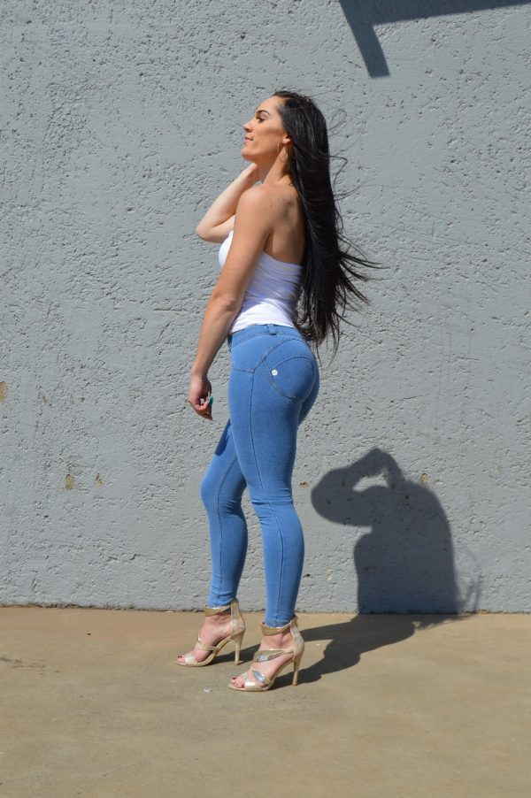 Low waist light blue - Curvify Jeans